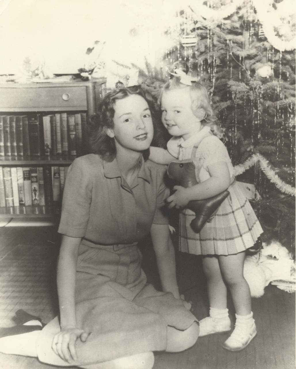 Sherry as toddler and mother Betty