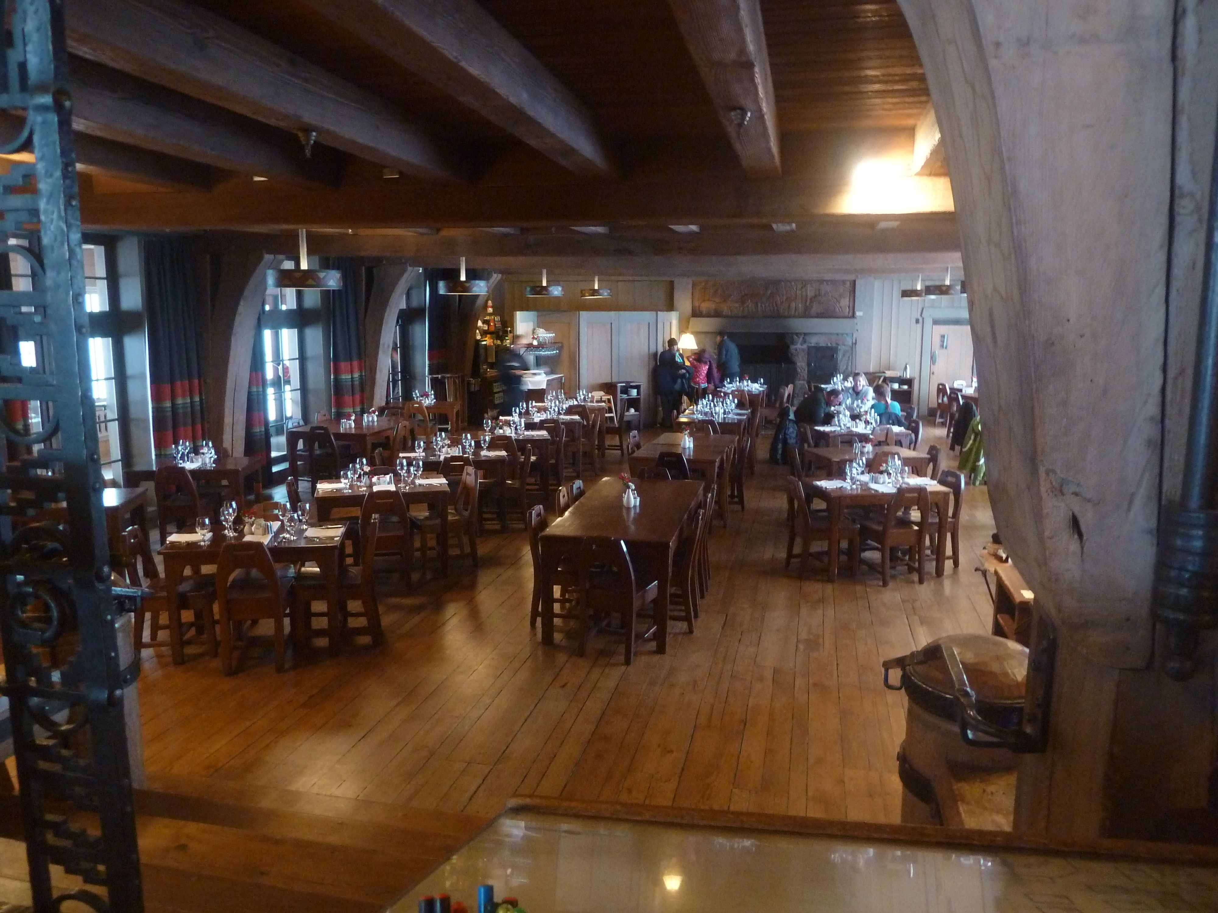 Dining Room at Timberline Lodge